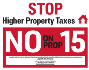 Should I Vote NO on Proposition 15?